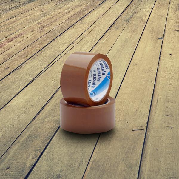 Nastro adesivo scatole - Il nostro nastro adesivo da imballo è composto da un film in polipropilene con un adesivo acrilico a base acqua. Lunghezza del nastro 50 metri.
