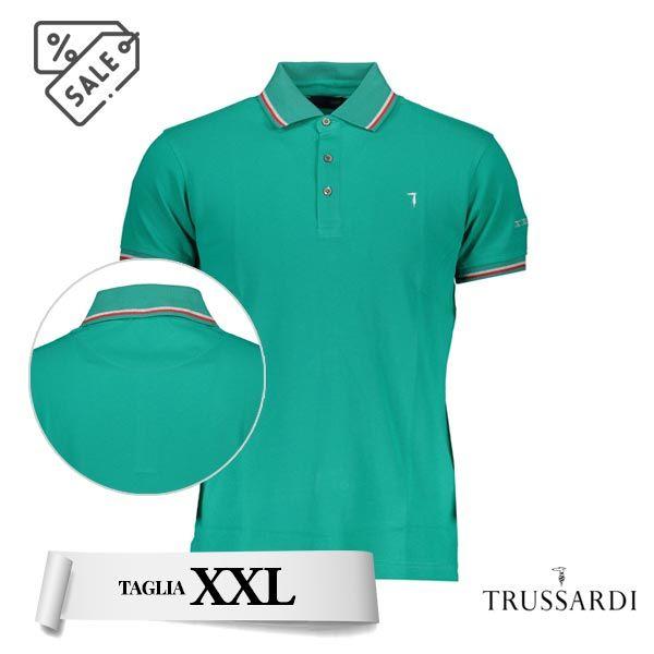 Polo verde Trussardi